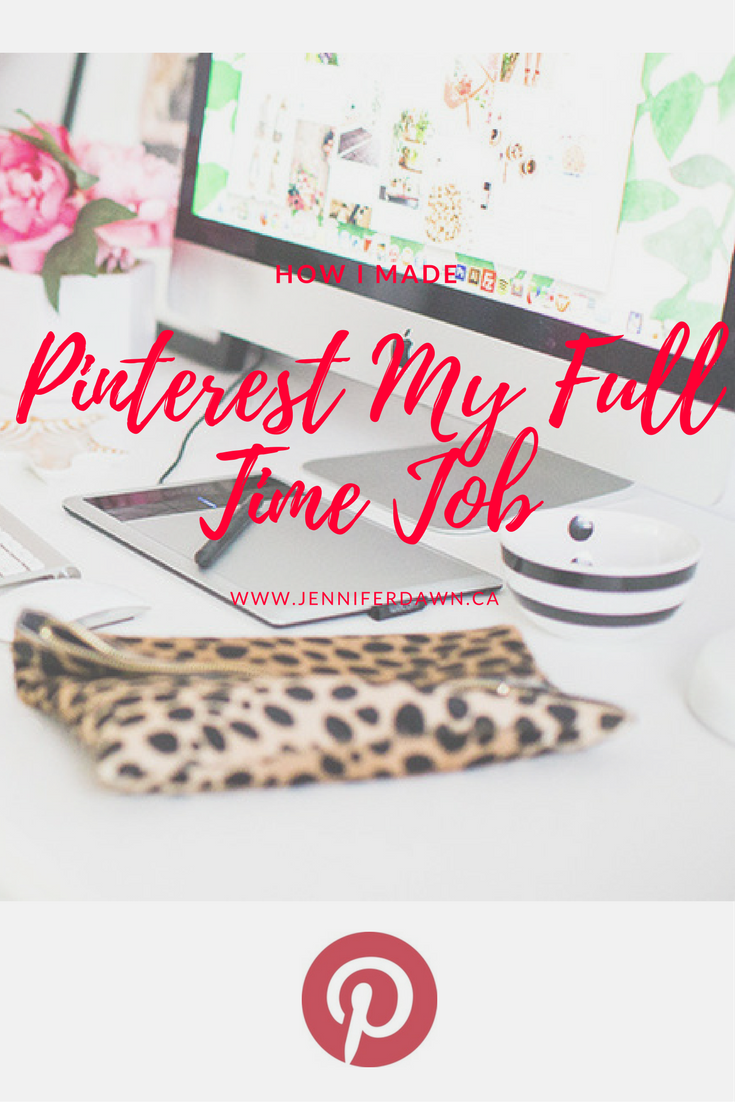 How Pinterest Earns Me A Full Time Income