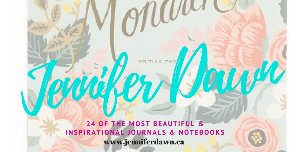 24 Of The Most Beautiful & Inspirational Journals and Notebooks