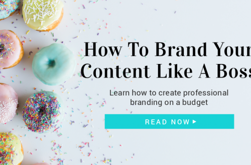 How To Brand Your Content Like A Boss! #bloggingtips #marketing Create visual branding for your social media content // Creating A Branded Image // Brand Your Website - Tips For Entrepreneurs