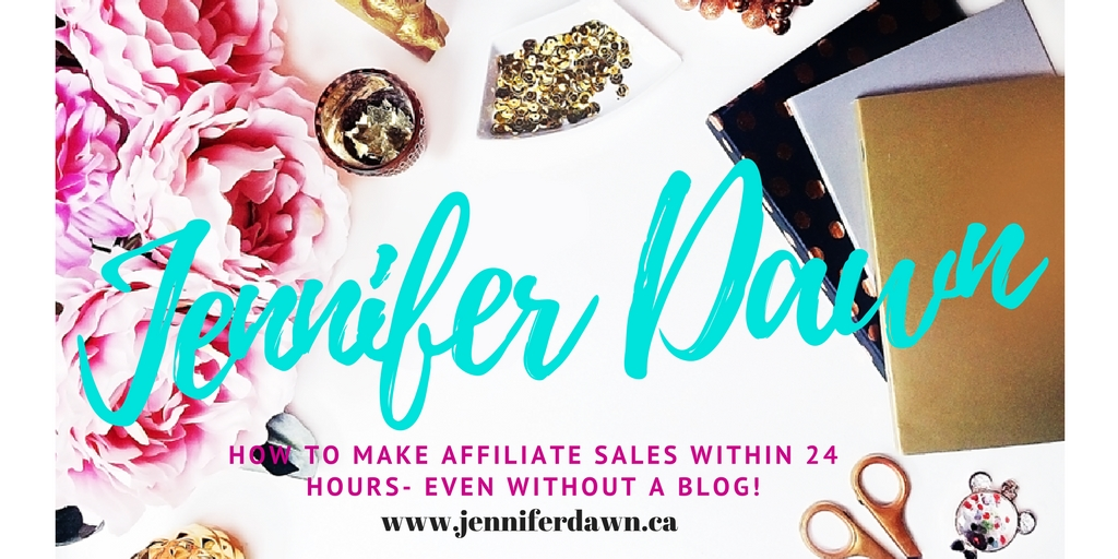 How To Make Affiliate Sales Within 24 Hours – Even without a Blog!
