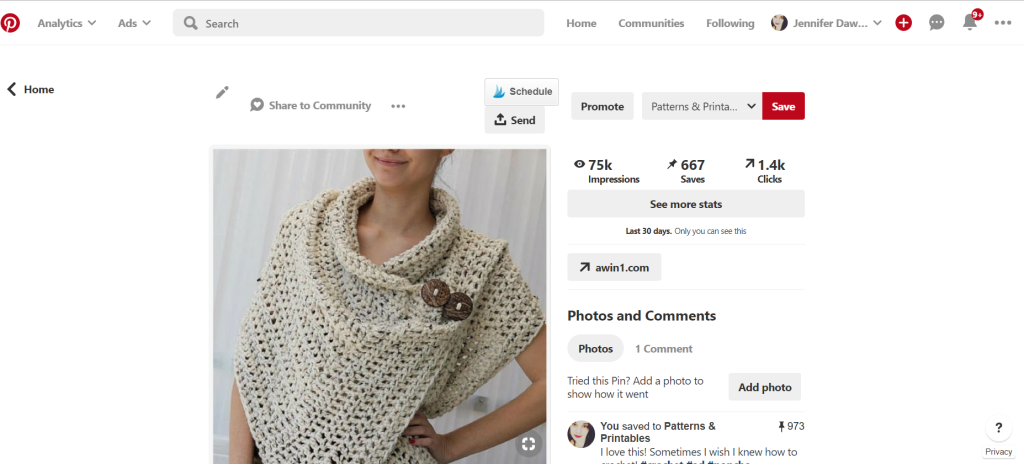 Earn Passive Affiliate Income with Pinterest In Just An Hour