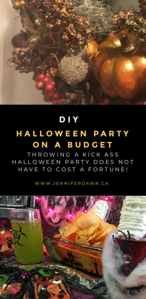 Throw An Awesome DIY Halloween Party On A Budget. You will be the hot of the party with these spooky diy treats. Kids LOVE the creepy diy gourmet chocolate bars and the toxic slime drink! #halloween #diy #budget