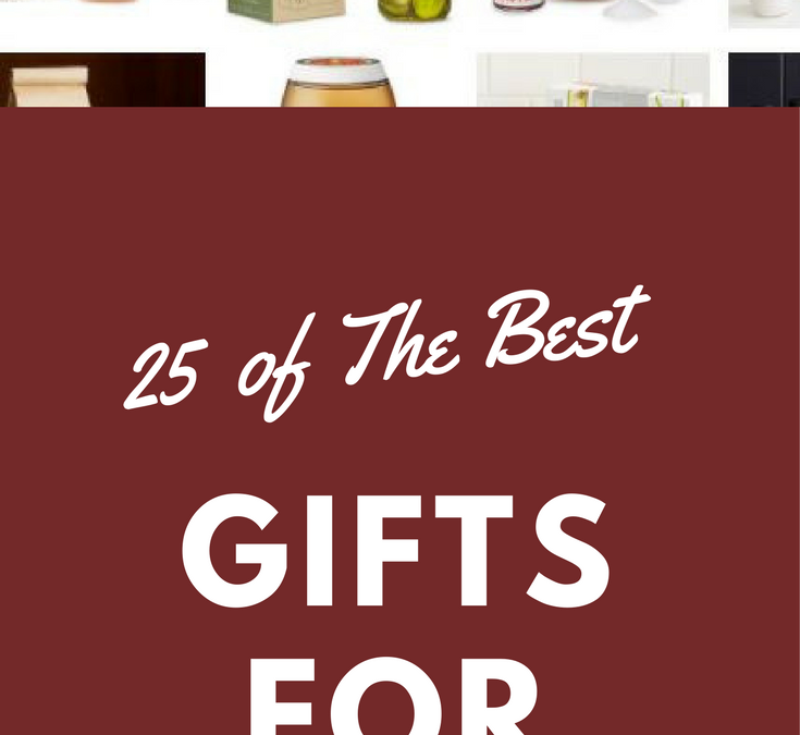 25 Gift Ideas For Foodies
