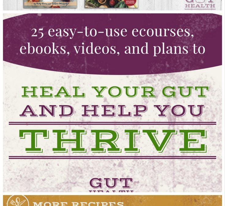 Gut Health Super Bundle. Heal Your Gut Starting Today!