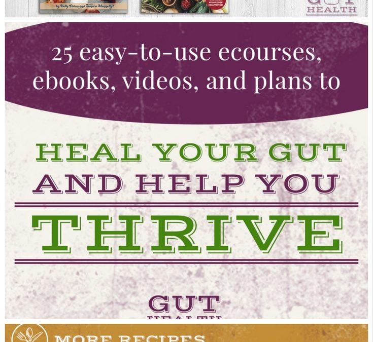 Gut Health Super Bundle. Heal Your Gut Starting Today!