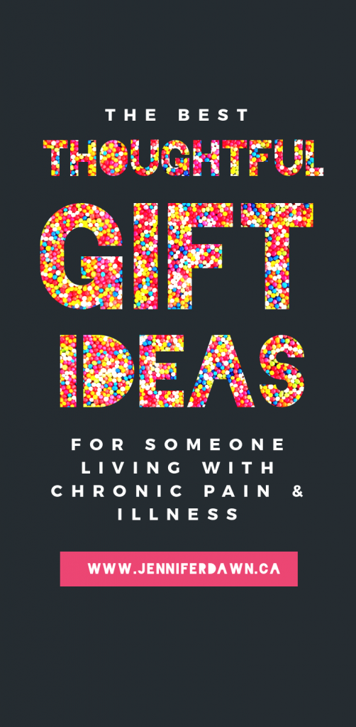 If you know someone who is living with chronic pain or chronic illness. Check out these gift ideas that I know they will appreciate #christmas #chronicillness #spoonie #fibromyalgia Gift Ideas For Spoonies // Gift Ideas For Someone Who Has Fibromylagia