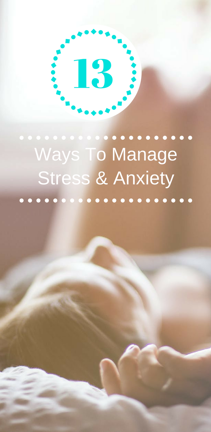 How to ease Anxiety , How to deal with stress