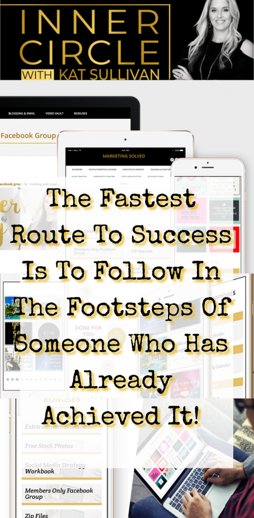 The fastest route to success is to follow in the footsteps of someone who has already achieved. Find yourself a mentor and commit! How To Grow Your Blog Or Business Fast