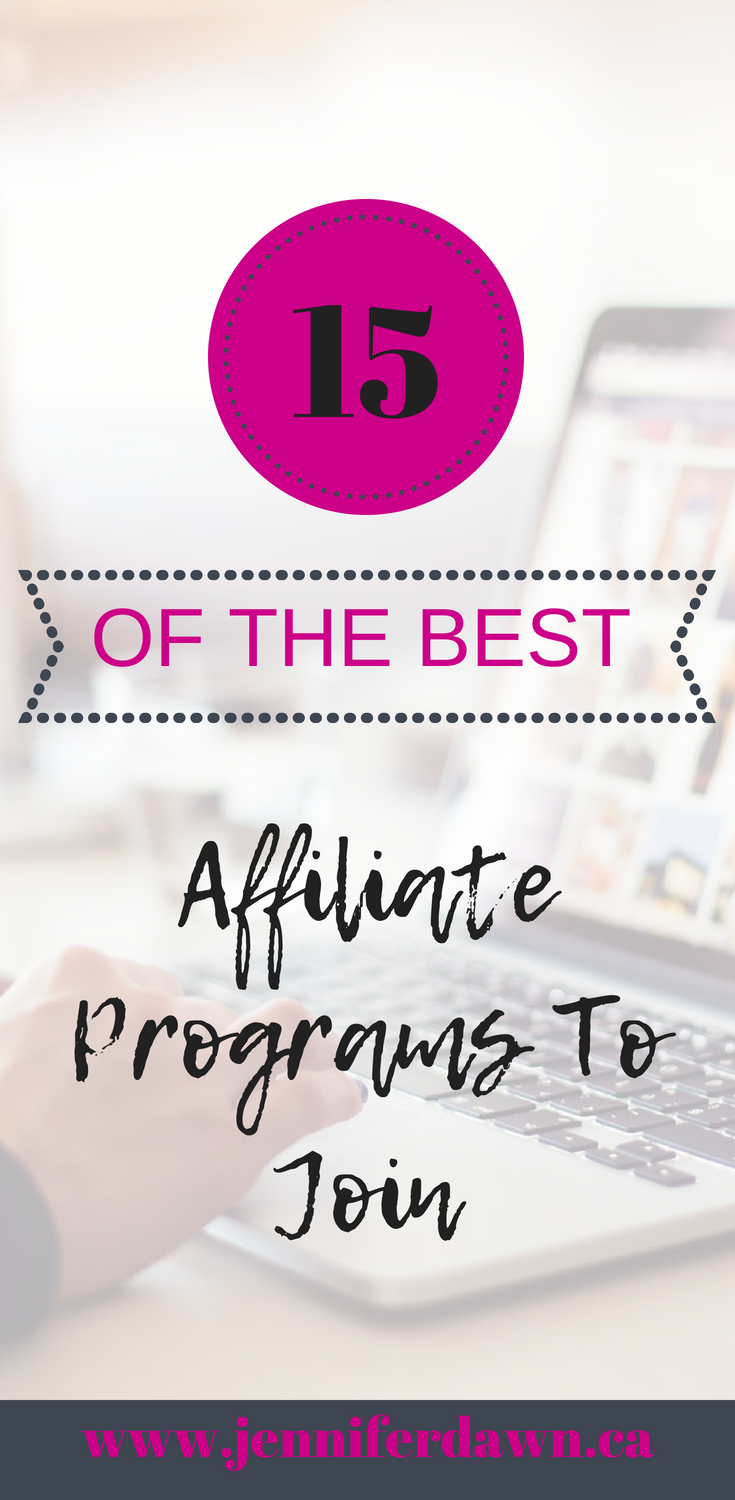 15 Of The Best Affiliate Programs To Join in 2018 -