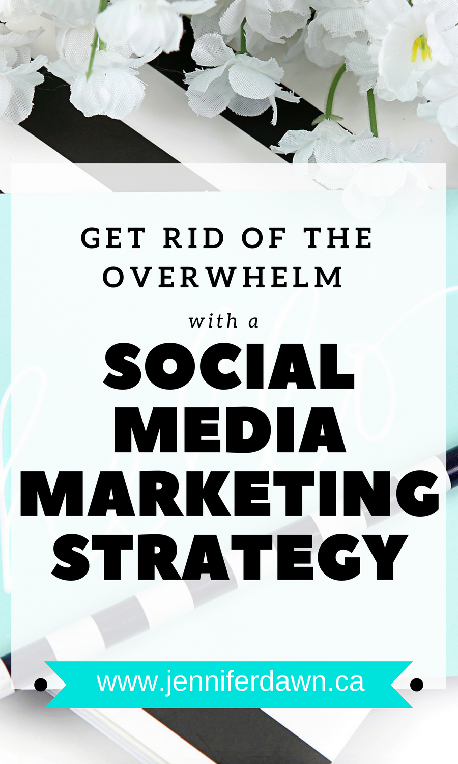 End the overwhelm with a Social Media Marketing Strategy that just works! Why You Need A Social Media Strategy //Marketing Strategy For Bloggers // Marketing Strategy Ideas