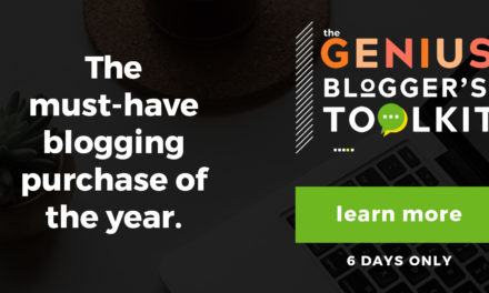 Genius Bloggers Tool Kit 2018