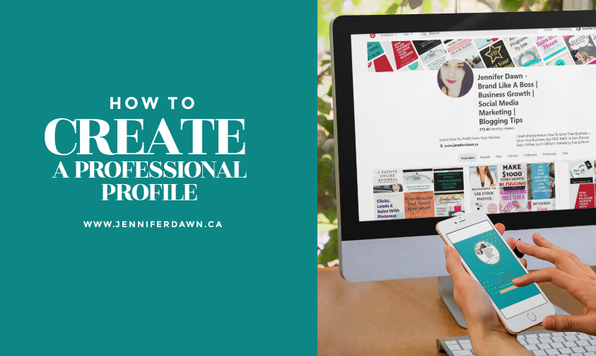 How To Create A Professional Pinterest Profile