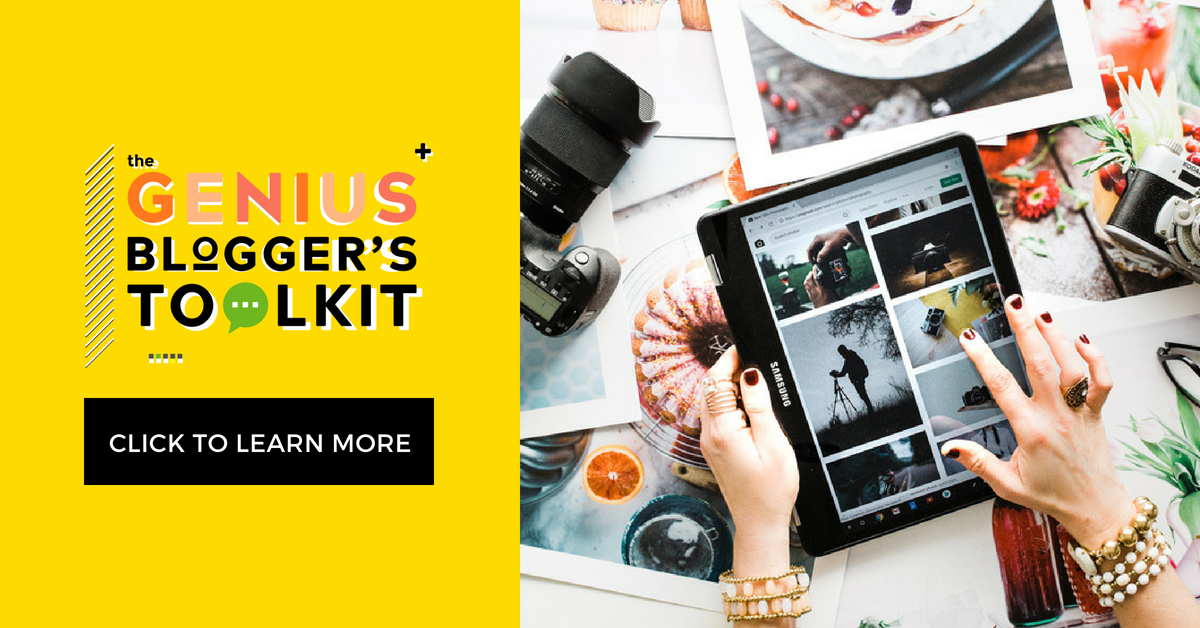 Genius Bloggers Toolkit 2018 is the best yet!