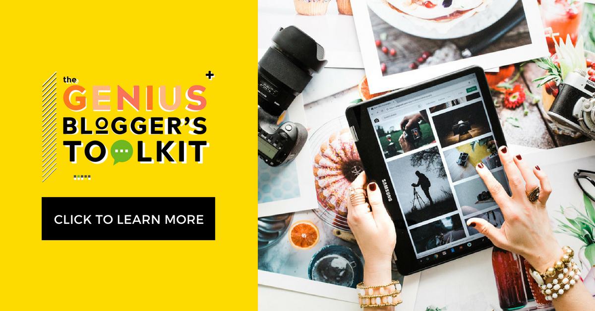 Genius Bloggers Toolkit 2018 is the best yet!