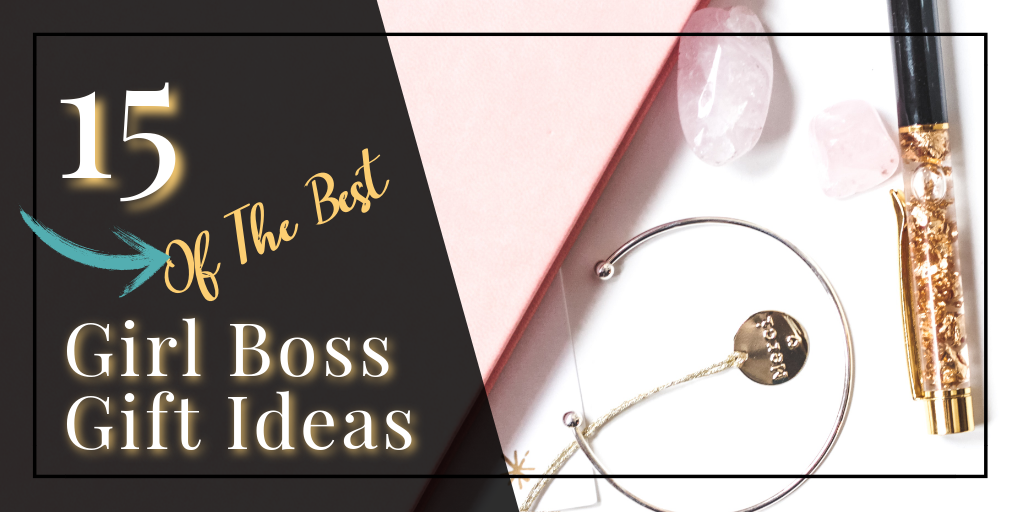 15 Of The Best Girl Boss Gift Ideas - If you have an entrepreneurial bestie or need a gift for a female co-worker, here are some great gift ideas for the busy woman! Self care is super important for a busy woman on the go and help with pretty organization is always appreciated! #girlboss #bossbabe #entrepreneur #giftideas