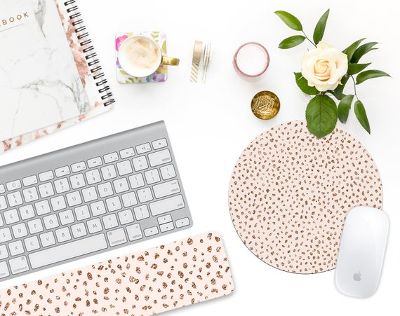 Girl Boss Mouse Pad Set - Gift Ideas for Boss Babes