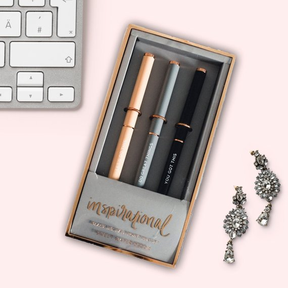 Inspirational Pen Set - Gift Ideas For Boss Babes