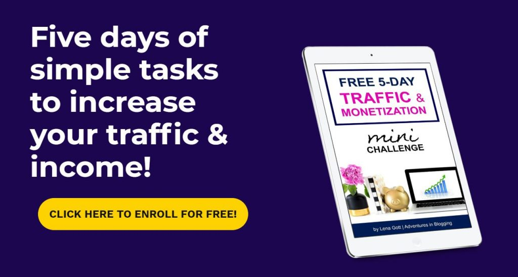 Increase Your Website Traffic by Joining this mini challenge!