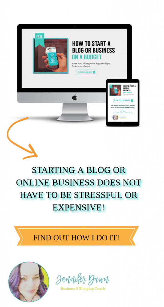 How To Start A Blog Or A Business On A Budget - Starting an online business can be stressful AND expensive! But it doesn't have to be! The things I wish I knew when I had first starting blogging! #bloggingtips #budget Blogging Tips For Beginners // Affiliate Marketing Tips // How To Make Money With A Blog