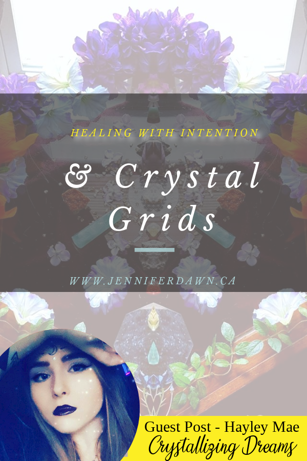 Healing With Intention & Crystal Grids - A guest post from Hayley Mae from Crystallizing Dreams. All of our handmade jewelry is 'soaked' within positive vibrations from the 'Violet Flame' Energy, within our crystal healing grids we create, every week! Every single piece is infused with prosperity and protection energy (From The Violet Flame). What ever item you choose, that item has previously been infused with everything and anything that can assist you on your spiritual journey! #crystalgrids #reiki #spiritualawakening