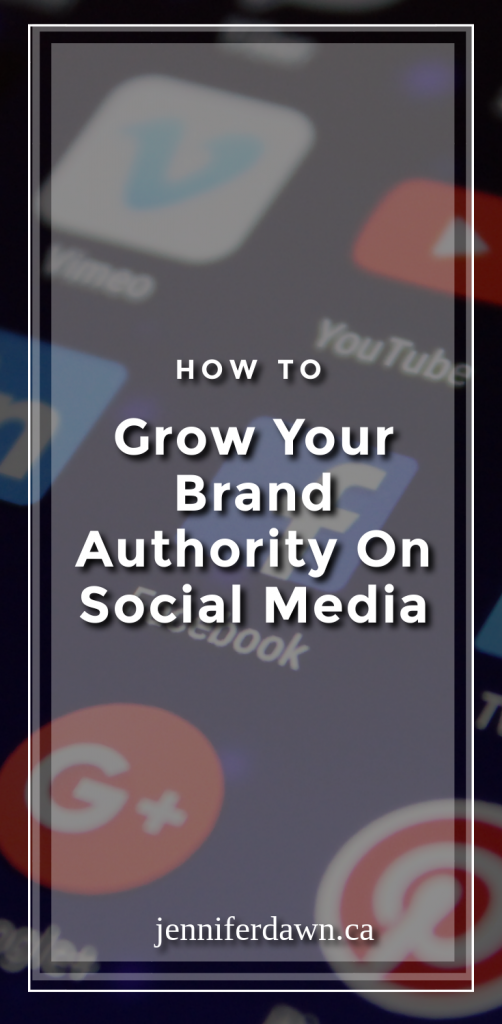 How To Grow Your Brand Authority On Social Media - Marketing Tips // How To Blogging For Beginners
