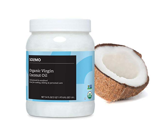 Coconut is a natural antibacterial. It aides in decreasing inflammation and is great for the skin