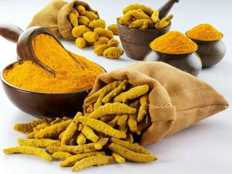 Turmeric is rich in Antioxidants, that protect against free radicals. Properties found in this herb are believed to support better digestion and reduce bloating, stabilization of mood, and support liver health. Also, turmeric is used in many culinary dishes to add flavor and color