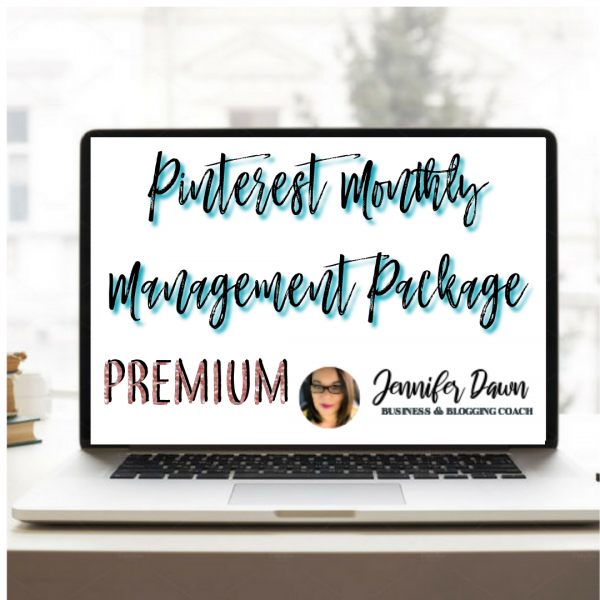 Pinterest Monthly Management Service - Premium Package