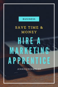 Save Time & Money In Your Business By Hiring A Marketing Apprentice. Have someone else complete tasks for you so you can focus on what you do best!