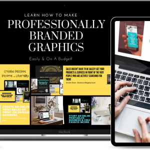 Brand Like A Boss - The Course That Teaches You How To DIY Your Graphics For A Professional Branded Image On A Budget! How to market your online business.