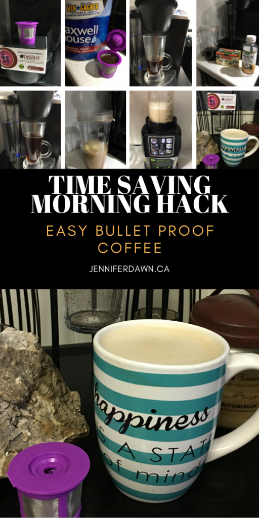 Time Saving Morning Hack - Easy Bullet Proof Coffee.