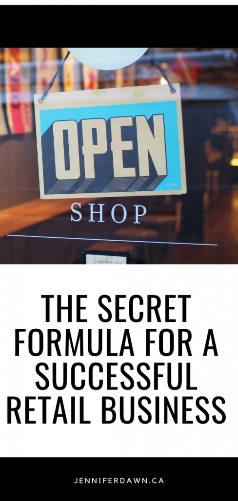 The Secret Formula For A Successful Retail Business