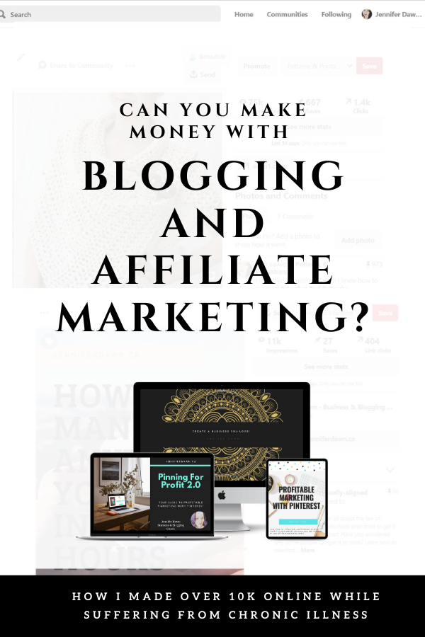 Blogging Tips For Beginners - Affiliate Marketing with Pinterest