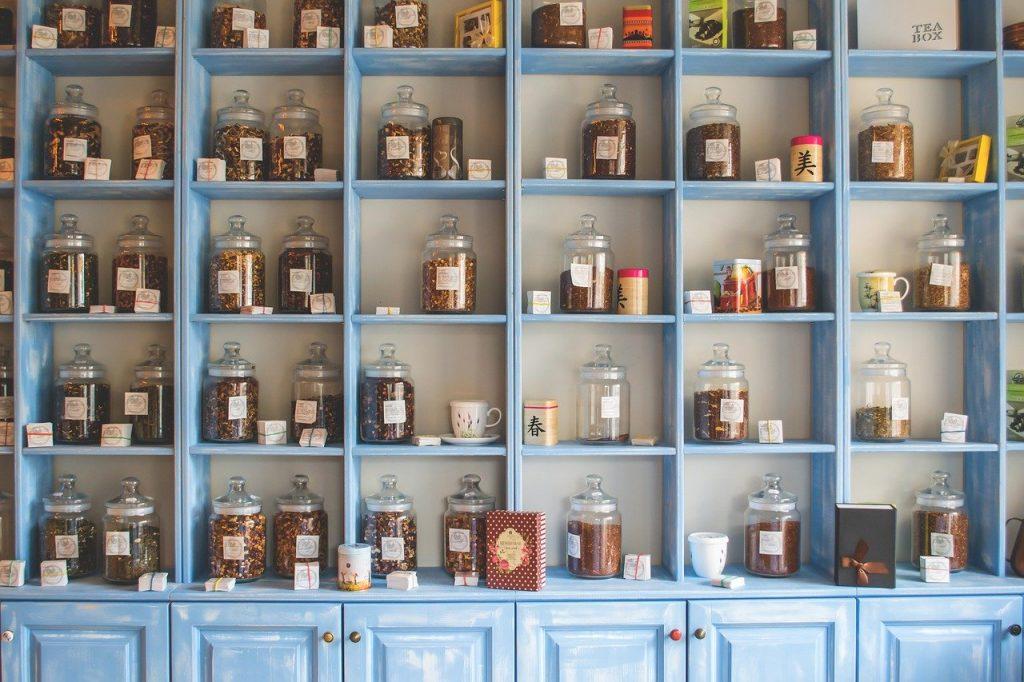 shelf, store, shop